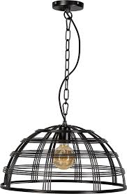 Hanglamp Barletta Draadlamp Zwart 50cm Max155cm Eth Lilnl