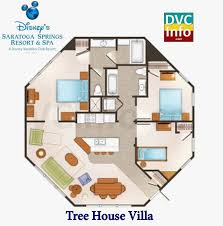 saratoga springs treehouse villa floor plan