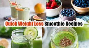 weight loss 5 delicious smoothie