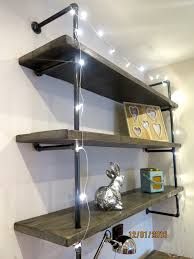 Gas Pipe shelving made to order