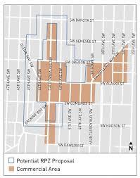 Sdot Org Chart Video Rpz In Junction Area Residential Neighborhoods Sdot
