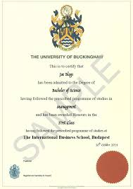 International Business School Bsc In Management With Marketing
