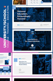 College Ppt Templates University Education Powerpoint Template