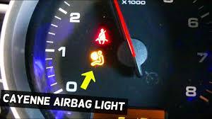 Airbag Warning Light Mot Porsche Cayenne Airbag Light On Diagnostics And Airbag Light Reset