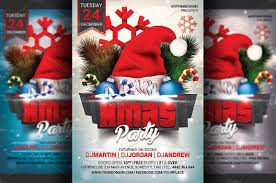 christmas flyer template psd vector eps and indesign format well labelled christmas flyer template