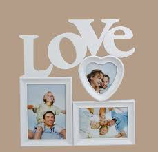 novelty love family photo frame 3 pieces combination wall hanging picture frames free