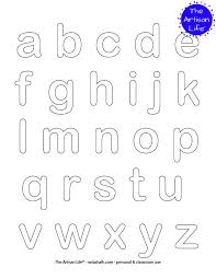 It doesn't matter if they can't yet read it, they can still color in the shapes. Free Printable Alphabet Coloring Pages No Prep Way To Teach The Abcs The Artisan Life