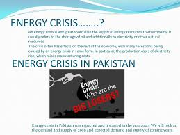 energy crisis of   4 causes of energy crisis