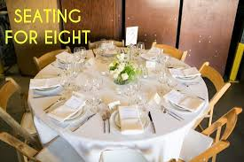 Round Table Settings For Weddings How To Create Your Wedding Seating Chart A Practical Wedding
