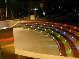 multi color led landscape lighting unconvincing rgb changing in ground led landscaping lights backyard decorating ideas