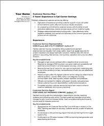 Sample Customer Service Resume Sample Customer Service Resume With