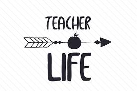 Teacher Life Svg Cut File By Creative Fabrica Crafts Creative Fabrica