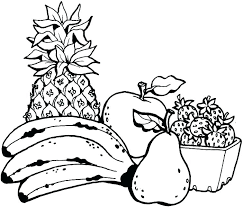 Fruits Coloring Pages Zupa Miljevcicom