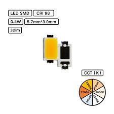 YUJILEDS VTC <b>Series</b> High CRI SMD LED - VTC5730 - Pack: <b>100 pcs</b>