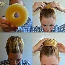 Sock Bun Hair Style a mommys lifewith a touch of yellow easy summer top bun hair 5864 by wearticles.com
