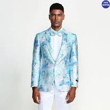 Light Blue Tuxedo Prom 2020 Prom Tuxedos Prom Suits Homecoming Tuxedos