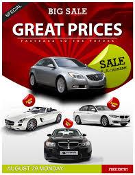 Sales Flyer Templates Car Flyers Auto Sales Flyer Template Car Sales Psd Flyer Template
