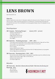 Resume Examples 2017 Magnificent ♑ 40 Latest Resume Format 40