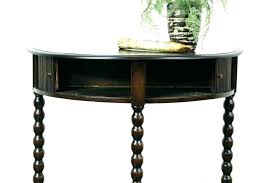half round entry table half moon entry table half round entry table large size of round half round entry table