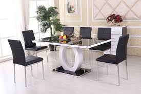 dining room small table and chairs round black glass image on extraordinary glass dining table set chairs furniture only designs