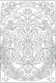 Advanced Peacock Coloring Pages Digital Trendinfo