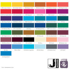 Procion Dye Color Mixing Chart Procion Mx Dyes By Jacquard