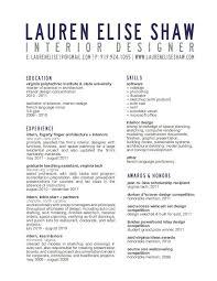 Resume- Title block