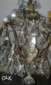 antique french crystal chandelier heliopolis image 2