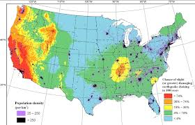 List of earthquakes in the united states. Map Earthquake Shake Zones Around The U S Kqed