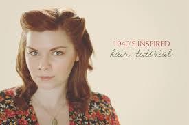 1940 s inspired hair tutorial i