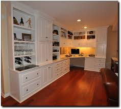 Office Built in Desk Designs | Built In Cabinets 1089x979 Home Office Desk  And Bookcases In
