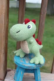 Crochet Dinosaur Pattern Mesmerizing Ravelry TRex Amigurumi Pattern By Kristel