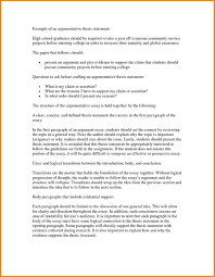 the example of argumentative essay co the example of argumentative essay