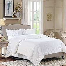 Amazoncom Chanasya Faux Fur Bed Blanket Super Soft Fuzzy Light