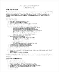 Cv London Waitress Cv Sample Resume Spacesheep Co