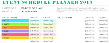 Event Itinerary Template Gorgeous Event Planning Agenda Template Sample Schedule Planner Meeting
