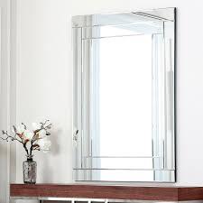 Bathroom Frameless Mirrors Bathroom Mirrors Ikea Frameless Wall Mirrors Art Deco Bathroom