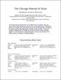 003 Chicago Manual Of Style Research Paper Example Essay L Museumlegs
