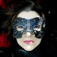 diy mysterious masquerade masks of diffe materials via selbermachen guru