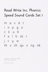 Rml Speed Sounds Chart Read Write Inc Set 1 Speed Sound Cards Read Write Inc