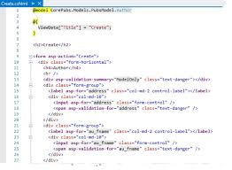 Introducing Asp Net Core Mvc Tag Helpers Intertech Blog