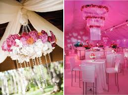 plus adding flowers to your venue s chandeliers are a great way to give a twist to the typical look of the ballroom sources first second third pic 4