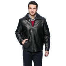 mens clothing men s dean leather jacket ummo74585