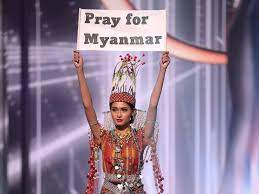 Miss Universe national costume contest ...