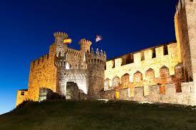 el castillo de los templarios de ponferrada