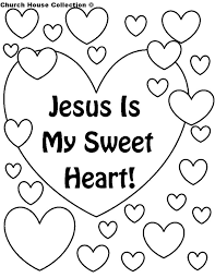 Small Picture Church House Collection Blog Jesus Is My Sweet Heart Coloring