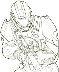 perfect spartan coloring pages halo in elite