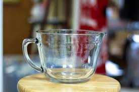 glass measuring mixing bowls