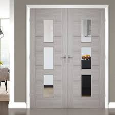 china front main gate solid wood entry doors solid wood interior doors with glass supplier
