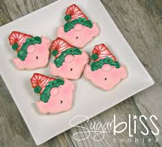 round christmas sugar cookies. Beautiful Cookies How To Make Elf Cookies With SugarBliss Cookies Via Sweetsugarbellecom For Round Christmas Sugar E